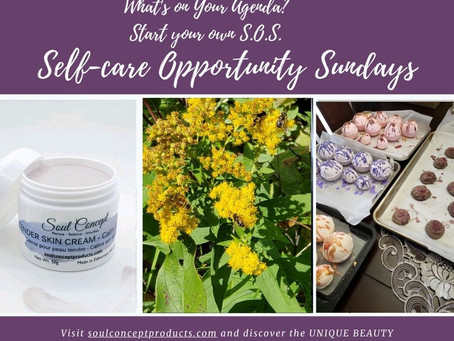 Self-care Opportunity Sunday (S.O.S.) - Harvest Upon Us