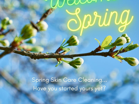 Spring 'Skin Care' Cleaning