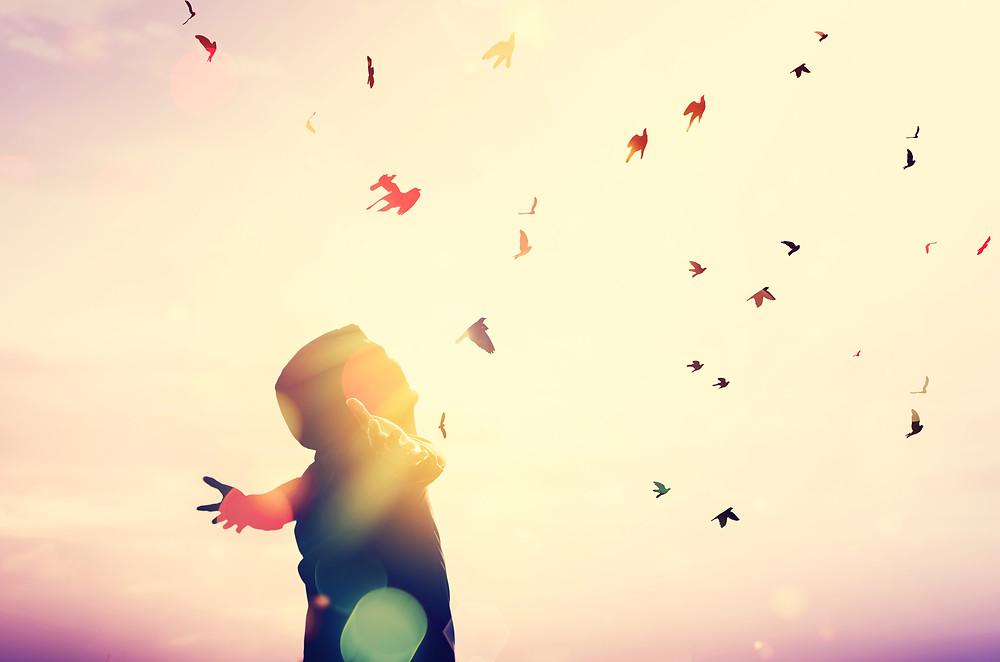 letting go, transcend, spiritual awakening