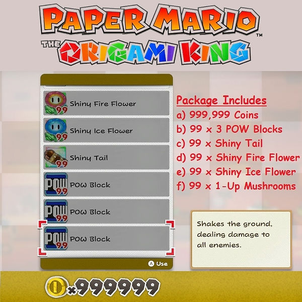Paper Mario Max Coins and Package.jpg
