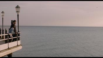 Overlooking the sea