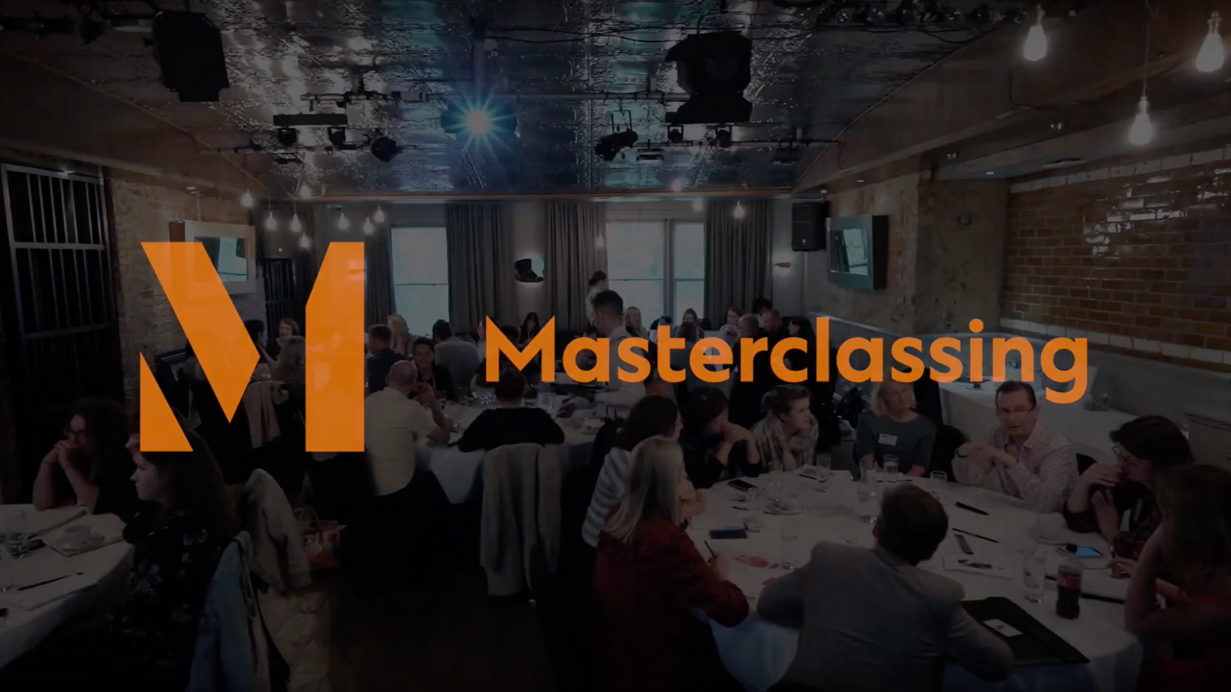 Masterclassing Event Showreel - London