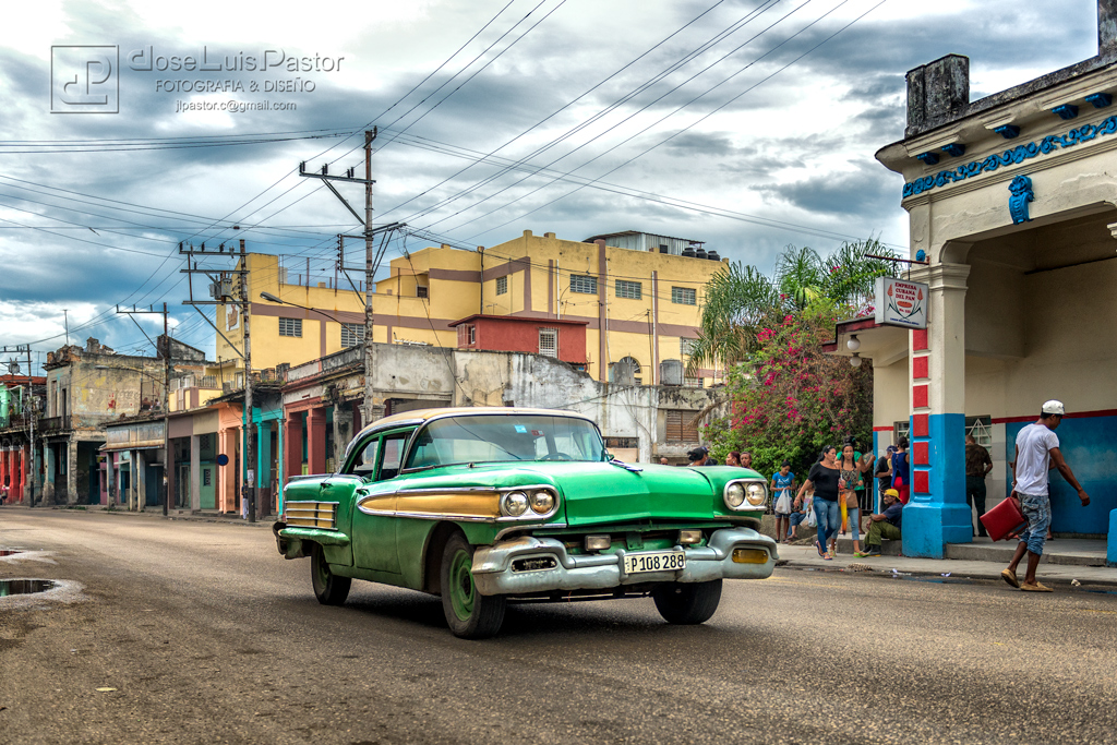 Taxi Cubano Verde 3
