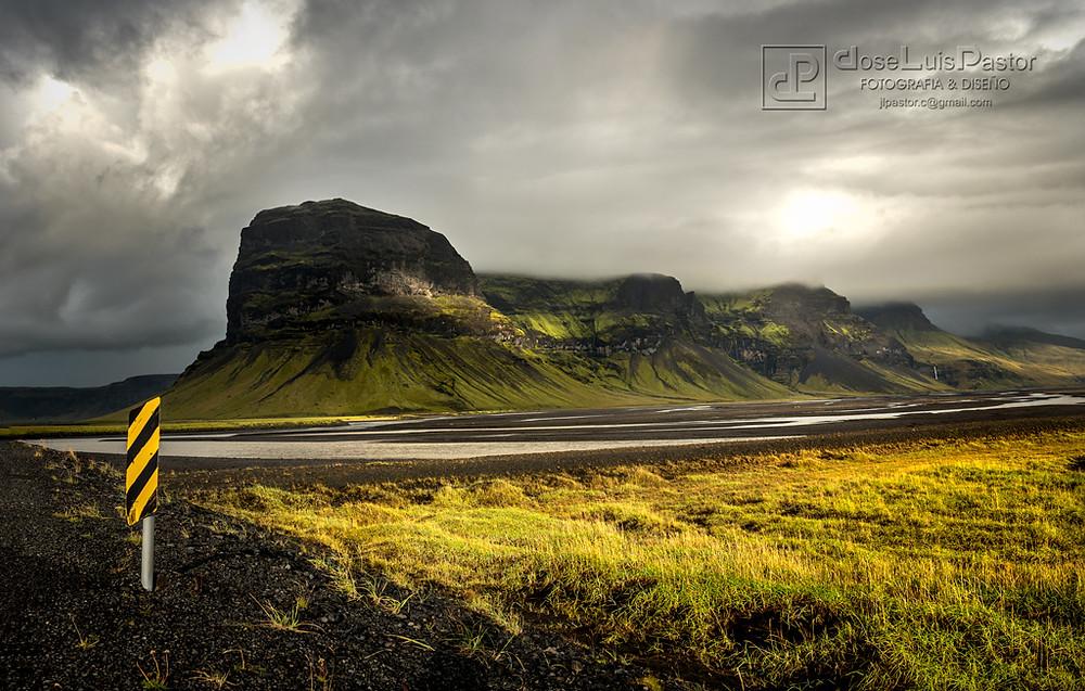 Las montañas de Islandia