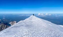 Cima del Mont Blanc 4810m.