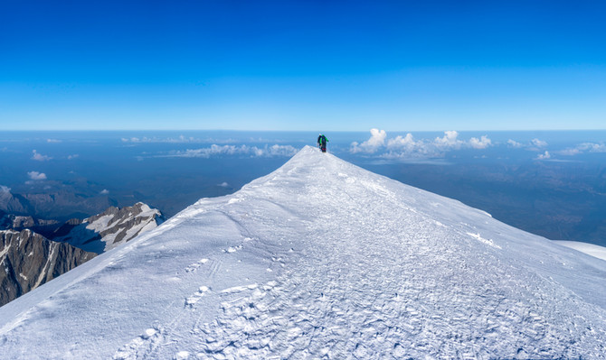 Expedición Mont Blanc 4.810 m. altura