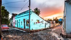 Atardecer en Cuba