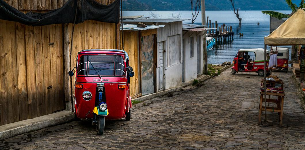 Taxi, San Juan la Laguna