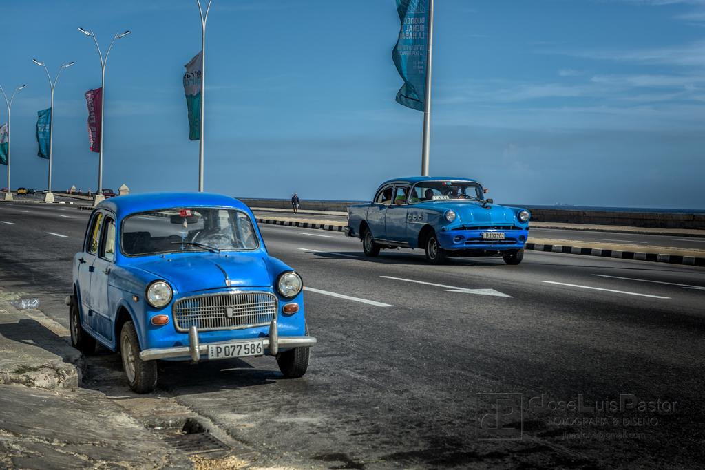 Taxi Cubano Azul 2