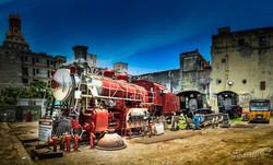 Maquina de Tren cuba
