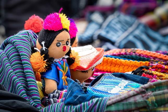 Muñeca de trapo Guatemalteca