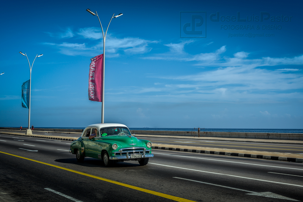 Taxi Cubano Verde