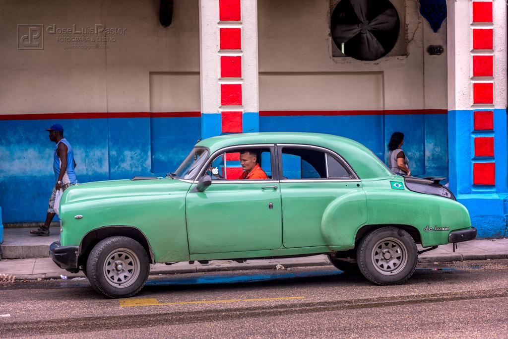 Taxi Cubano Verde 4