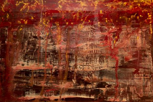 Cidades, mixed media on canvas - 120 cm x 180 cm - 2021