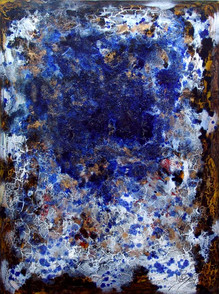 """""""Mares """" - Acrylic on canvas - 119 x 97 cm"""