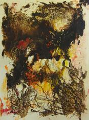 """""""Mares """" - Acrylic on canvas - 130 x 97 cm - 2011"""