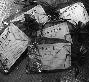 Urban Lash Gift Certificate