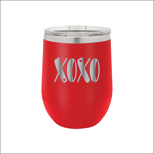 12 oz. Stemless - XOXO