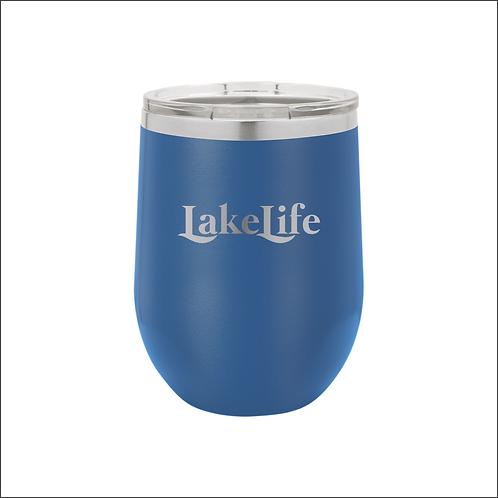 12 oz. Stemless - Lake Life Swash