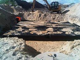 Carbone Contractors Drainage System