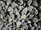 Carbone Basalt 50mm Railway Ballast