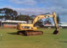 Carbone Bros Machinery Hire Hydraulic Excavator 320D