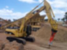 Machinery Hire Hydraulic Excavator 322c