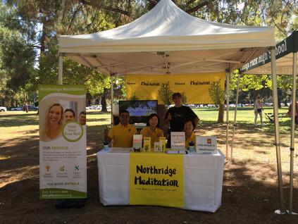 Promotion at Warner park
