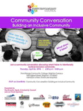building an inclusive community conversa