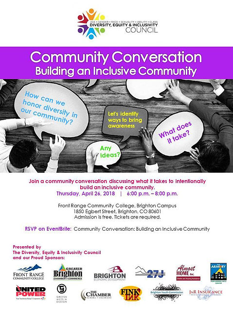 building an inclusive community conversa