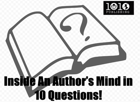 Inside An Author's Mind in 10 Questions