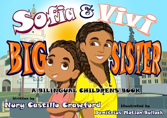 Sofia and Vivi Big Sister-hardcover
