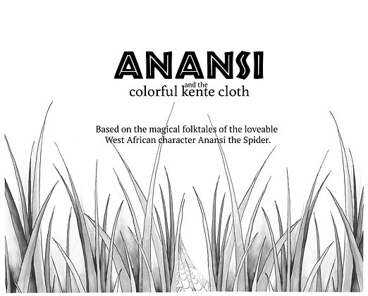 Anansi and the Colorful Kente Cloth