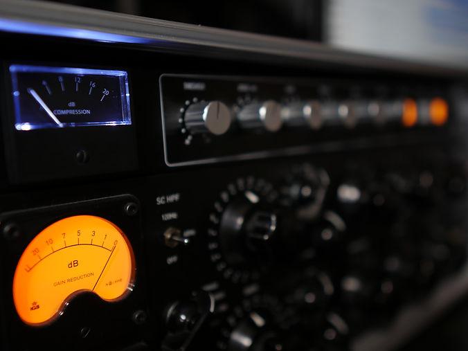 Mixing mastering studio analog outboard