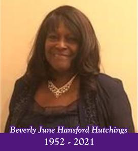 Beverly June Hansford Hutchings