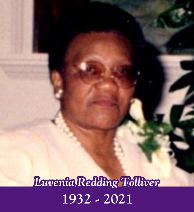 Luvenia Redding Tolliver