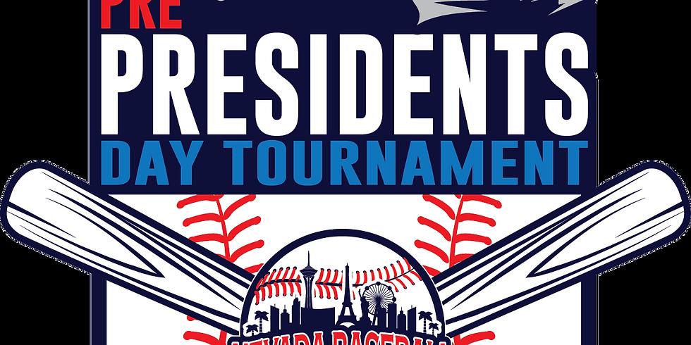 12U, 13U Pre Presidents Day Tournament
