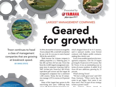 appliedgolf featured in Golf Inc. Magazine