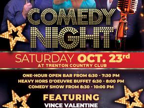Comedy Night on Saturday, October 23rd