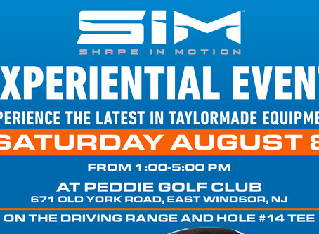 TAYLORMADE FITTING DAY AT PEDDIE GOLF CLUB