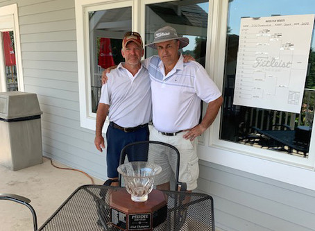 GRUND HANGS ON FOR CLUB CHAMPIONSHIP WIN!