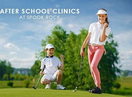After School Golf Clinics at Spook Rock Golf Course