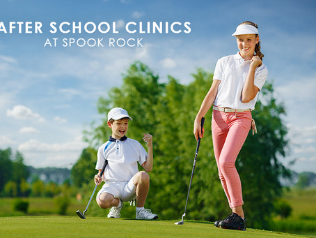 After School Golf Clinics at Spook Rock Golf Course