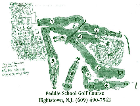 Peddie Golf Club Original Layout