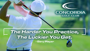 Concordia Golf Club's Newly Renovated, Full Driving Range Now Open!