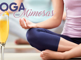 Yoga and Mimosas on Saturday, June 19th