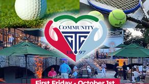Community Weekend - Oct. 1st - 3rd