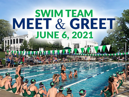Swim Team Meet & Greet, June 6th