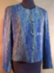 Blue Rich Rag Jacket silk