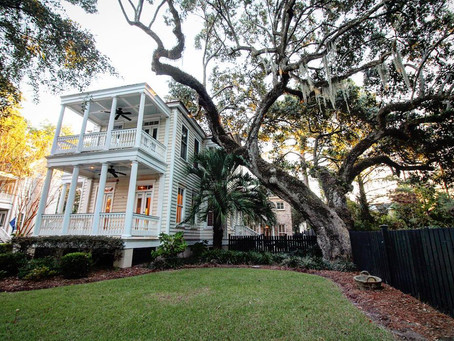Recently sold 3 br/ 3.5 ba modern Charleston single in Mount Pleasant's I'on neighborhood